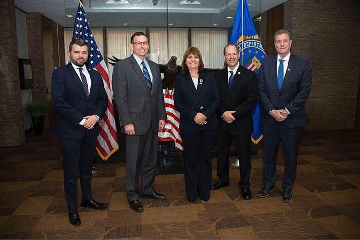 Bullrich visitó ayer la academia del FBI en Virginia
