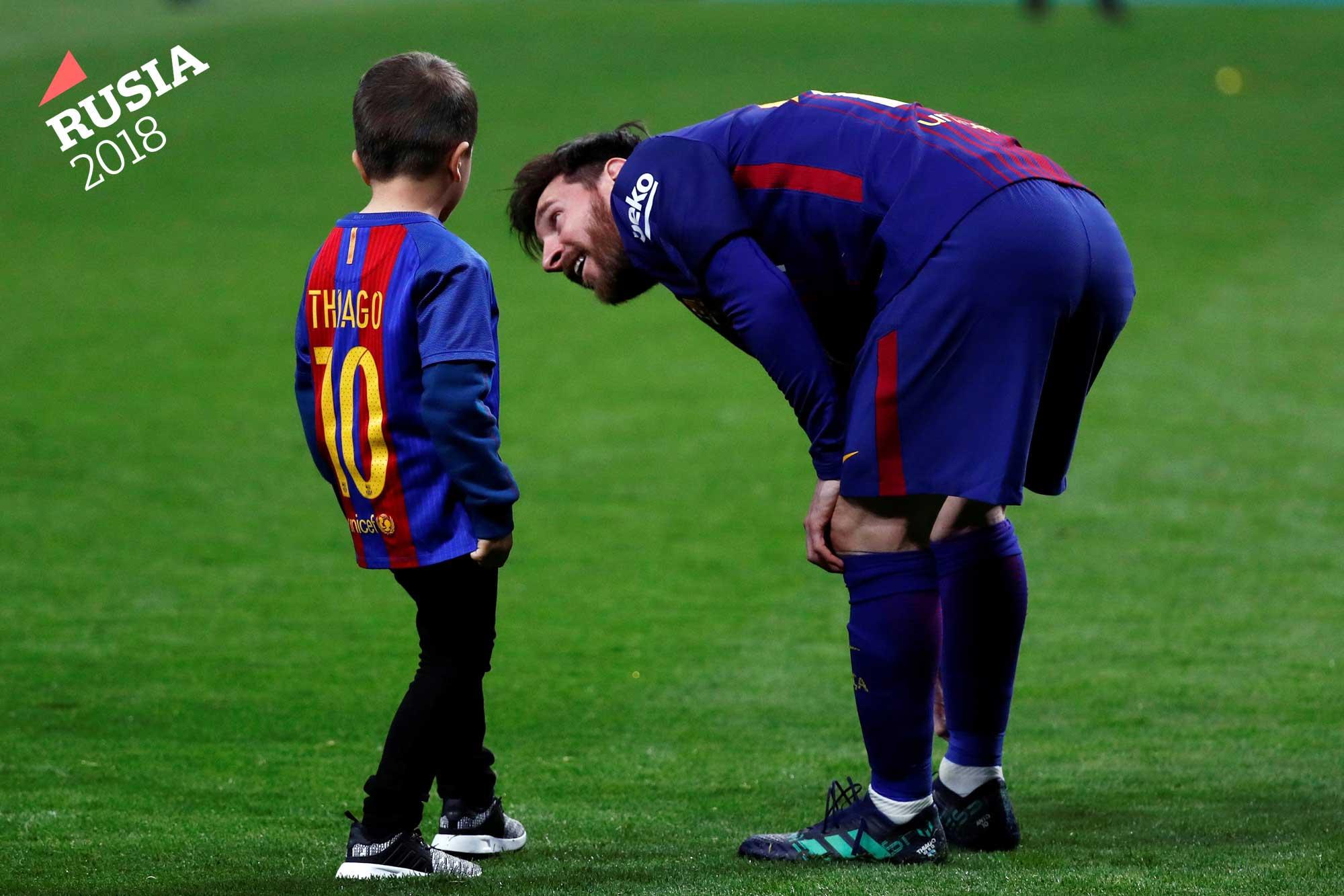 Habló Lionel Messi  la teoría divina sobre su talento 57b99ba07d747