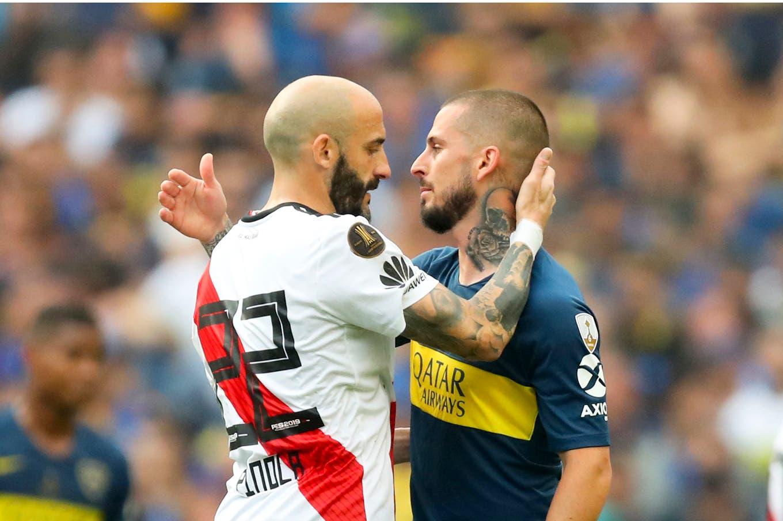 Boca-River: el superclásico ya se jugó en el simulacro del sorteo de la Copa Libertadores