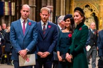 Tensión en la realeza. El evento que podría reunir a William y Kate con Harry y Meghan