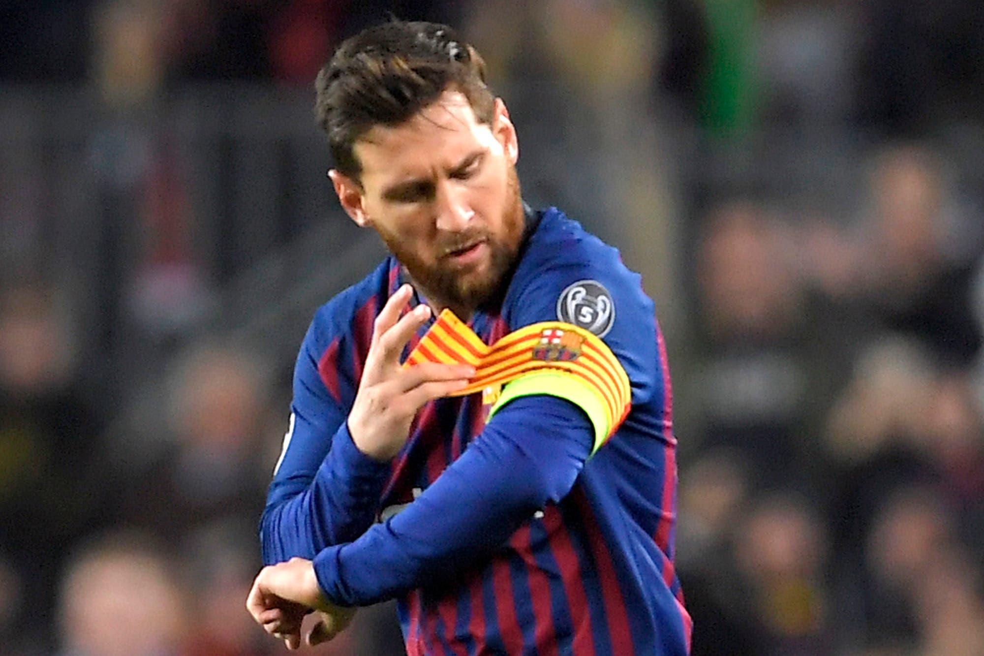 Barcelona descubrió en Lionel Messi al capitán que no tolera perder