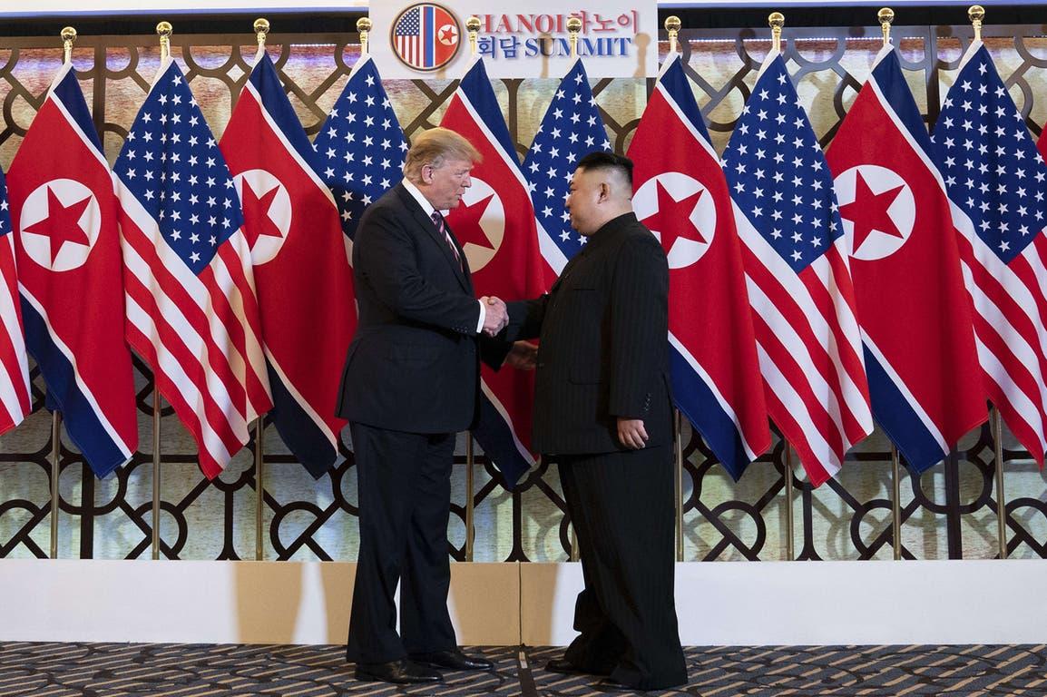El presidente de EE.UU. y el líder de Corea del Norte no negociaron puntos en común