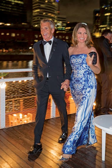 Ricardo Piñeiro y Teresa Calandra