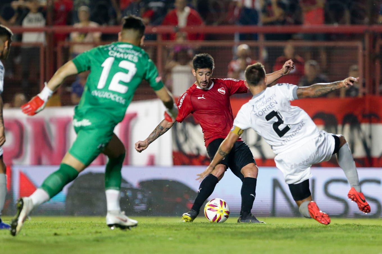 Argentinos-Independiente, Copa de la Superliga: los Rojos abren la cuenta con Pablo Pérez