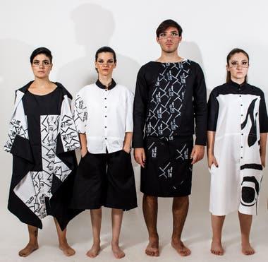 """""""Ágenero"""" trabajo práctico realizado por alumnos de la Tecnicatura Universitaria en Diseño de Indumentaria y Textil (UNT)"""