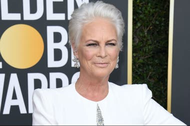 La actriz en la alfombra roja de los premios Globo de Oro, a comienzos de este año