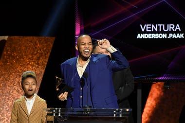 Anderson .Paak recibió el premio a R y B album. Gammy 2020