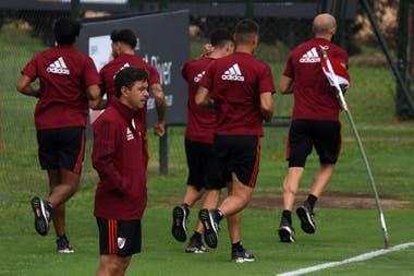 River regresará a las prácticas el 10 de agosto con tres bajas: Suárez, Quintero y Rojas