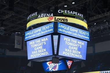 La NBA está suspendida desde el 12 de marzo; a partir del 8 de este mes están habilitados los entrenamientos en pequeños grupos.