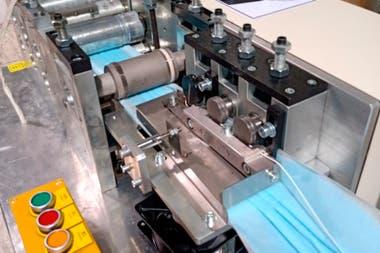 La máquina que funcionará en Argentina ya está en pleno proceso de producción en Chile y en Brasil.