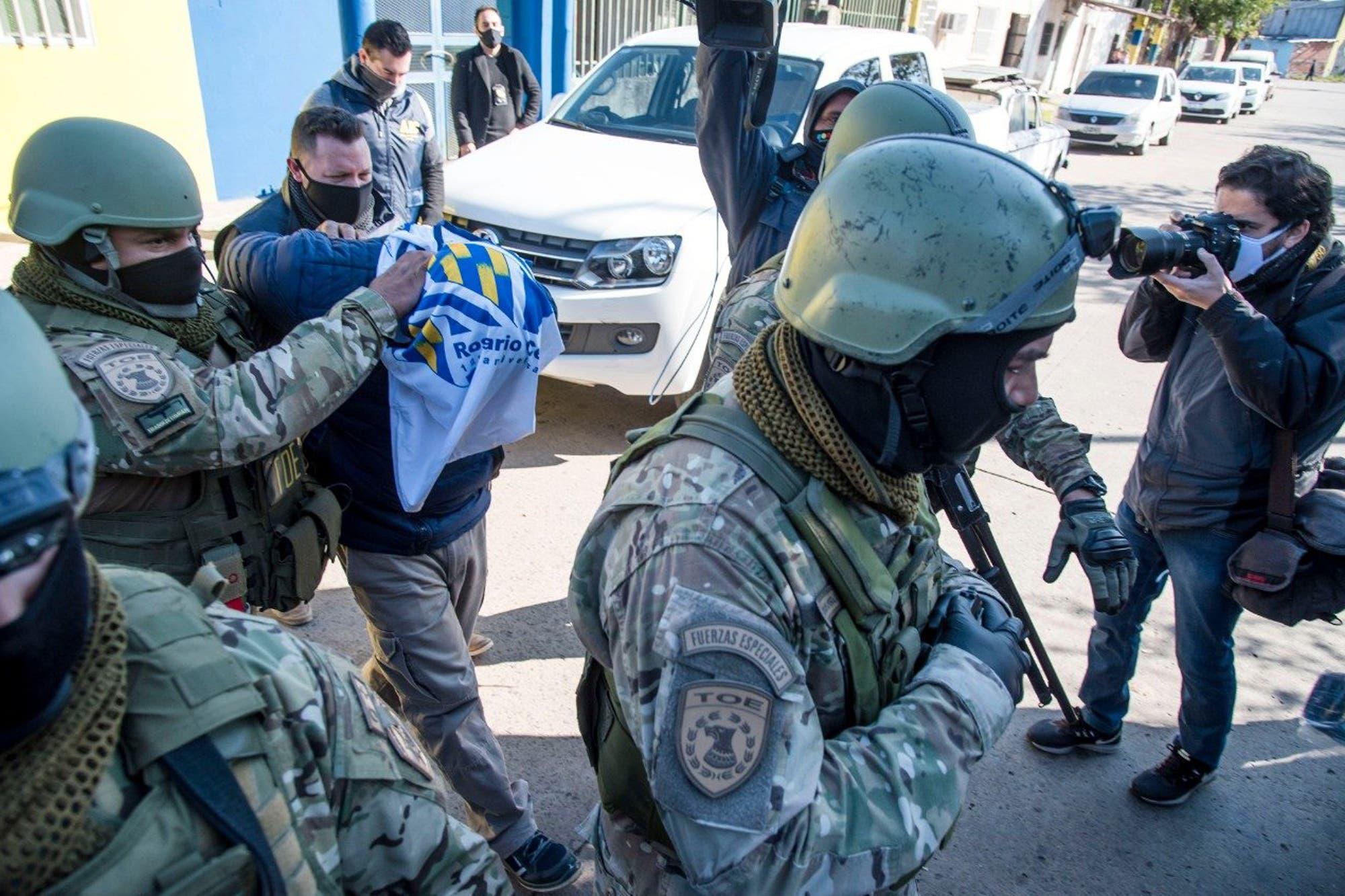 Fue arrestado el principal ladero del jefe de la barra brava de Rosario Central