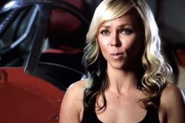 La mujer tenía el récord de velocidad en tierra en un vehículo de cuatro ruedas