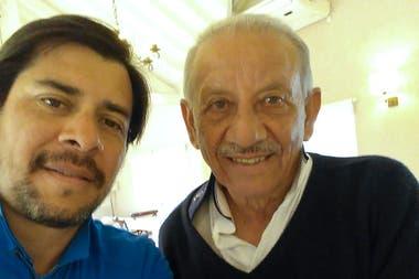 Vicente Chino Fernández y su hijo.