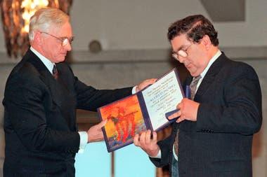 Murió el Nobel de la Paz John Hume, artesano de la reconciliación en Irlanda del Norte