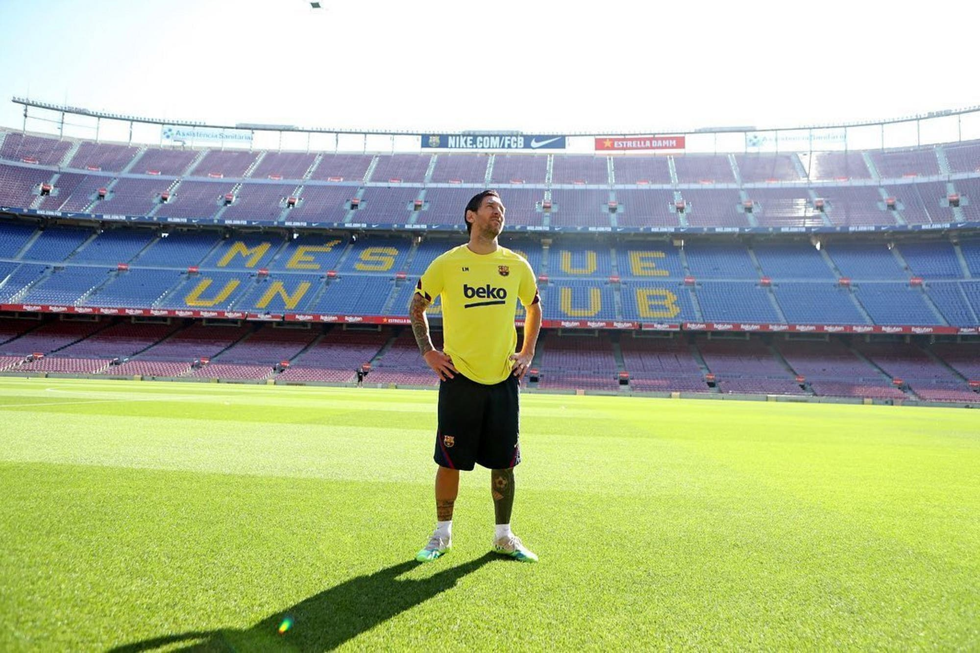 """""""No se me ocurre irme de Barcelona"""": Lionel Messi, en la última entrevista prepandemia al principal medio deportivo catalán"""