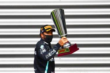 Cuarta victoria de Lewis Hamilton en el Gran Premio de Bélgica; el británico se impuso en 2010 con McLaren y en 2015, 2017 y 2020 al mando de Mercedes