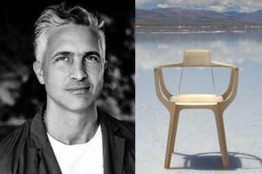 Francisco Gómez Paz y su creación: Eutopia, la silla premiada