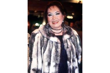 Lolita Torres, en una de sus últimas apariciones públicas