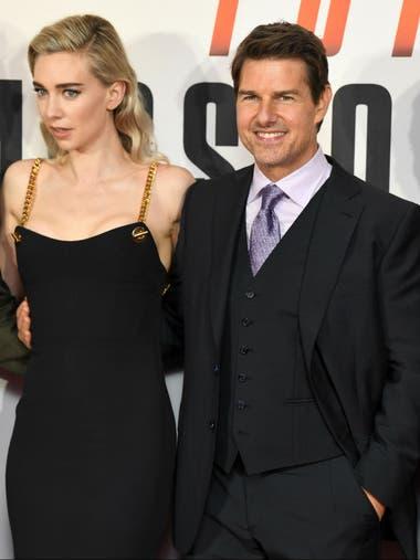 Junto a Tom Cruise en la premiere de la sexta entrega de Misión Imposible; Kirby contó que antes de comenzar a trabajar como actriz sufrió bullying por años