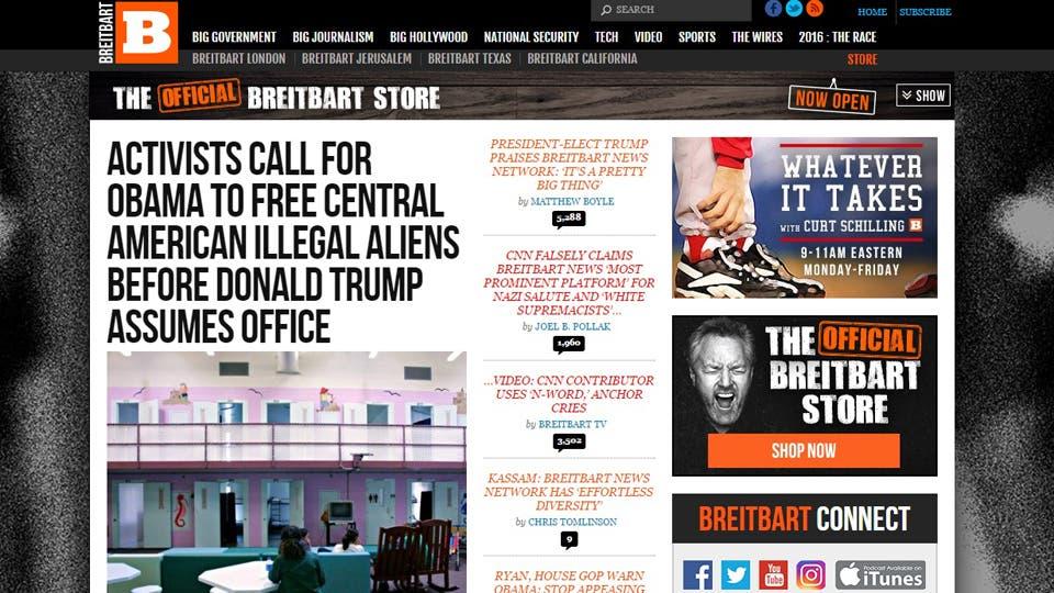 Breitbart, el polémico portal extremista que ayudó al magnate, se ...