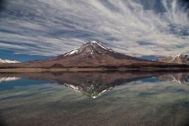 Laguna Diamante, Mendoza. Autor: Flor Aletta