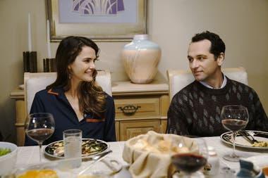 Keri Russell y Mathew Rhys, nominados por The Americans