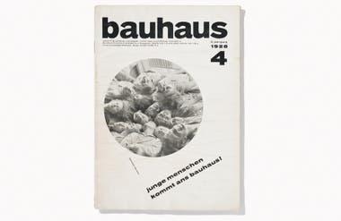 Revista de diseño editada por la Bauhaus a cargo de Hannes Meyer y Ernst Kállai, 1928
