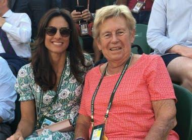 Gaby Sabatini, junto con Norma Baylon, otra gran tenista argentina de la historia