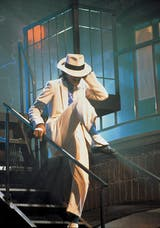 "MJ en el video de ""Smooth Criminal"""