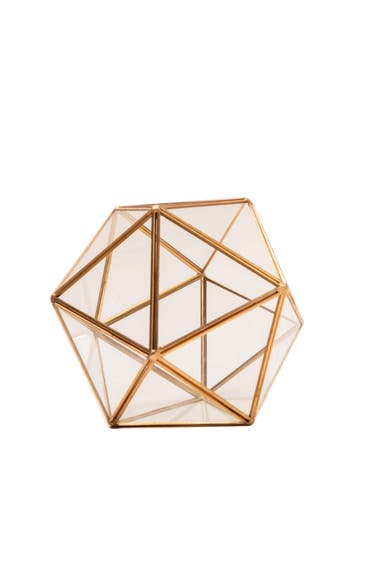 Terrario Edda round gold (Sweet Home, $949)