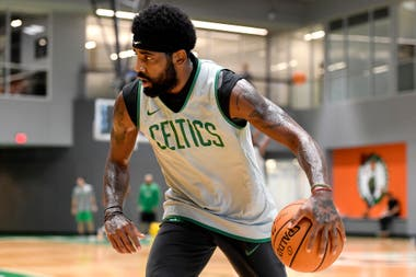 Kyrie Irving de Boston Celtics