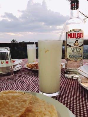 Piña colada como en Cuba (con y sin alcohol)