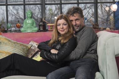 Malena Figo y Claudio Da Passano
