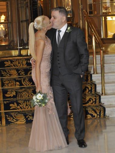 En junio del año pasado, Fabián Doman y su novia habían celebrado su unión civil