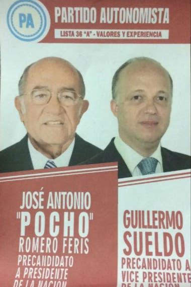 Romero Feris y Sueldo encabezan la lista 36