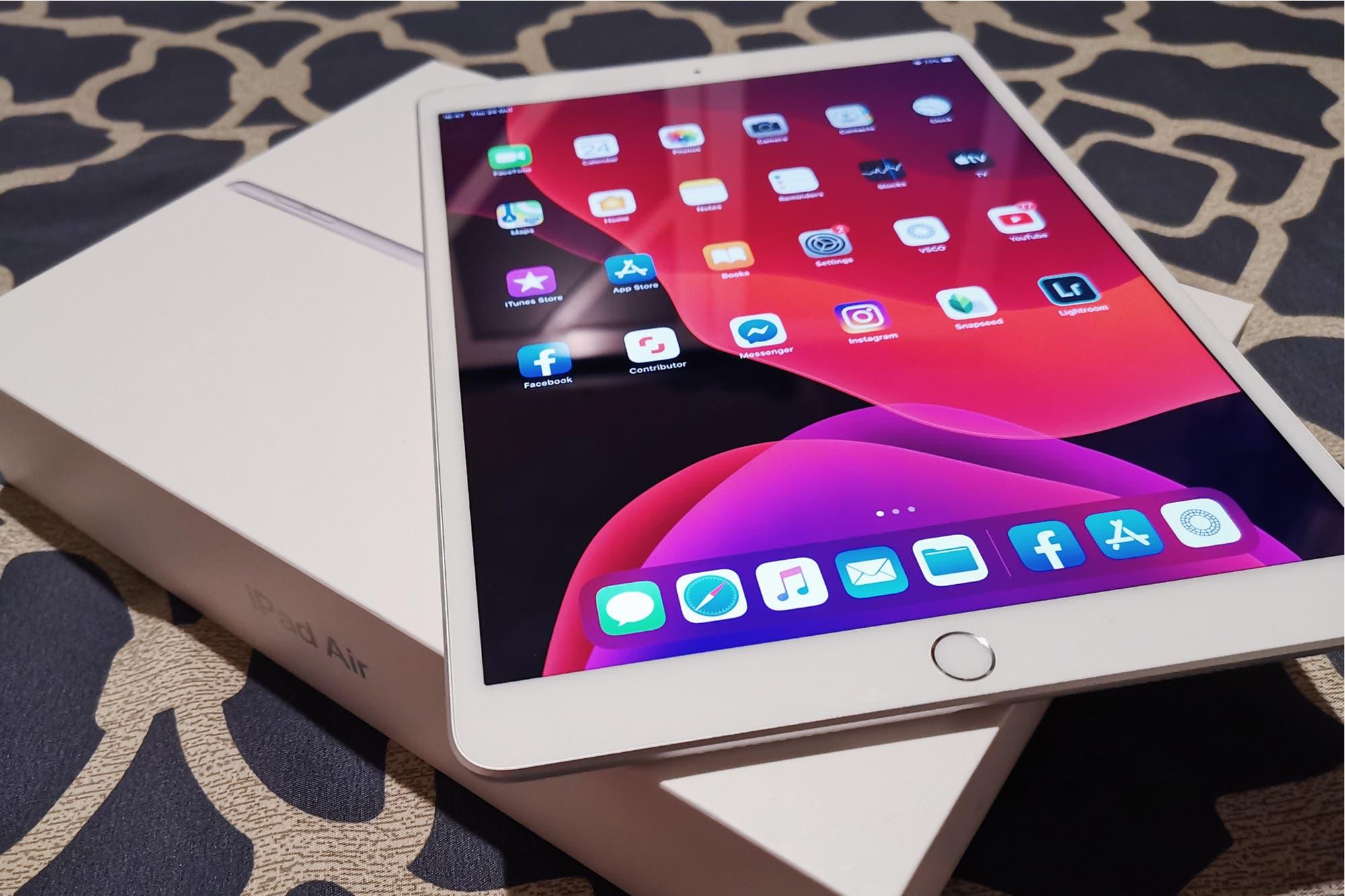 Apple reparará gratis los iPad Air de 2019 afectados por un fallo permanente de pantalla
