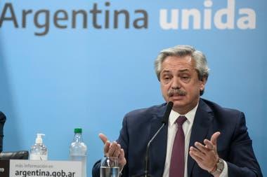 Fernández dice que no quiere caer en default