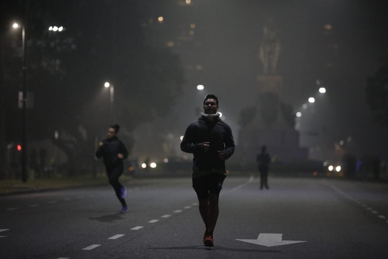 Coronavirus en la Argentina: con más distancia, los runners volvieron a salir a los parques de la ciudad