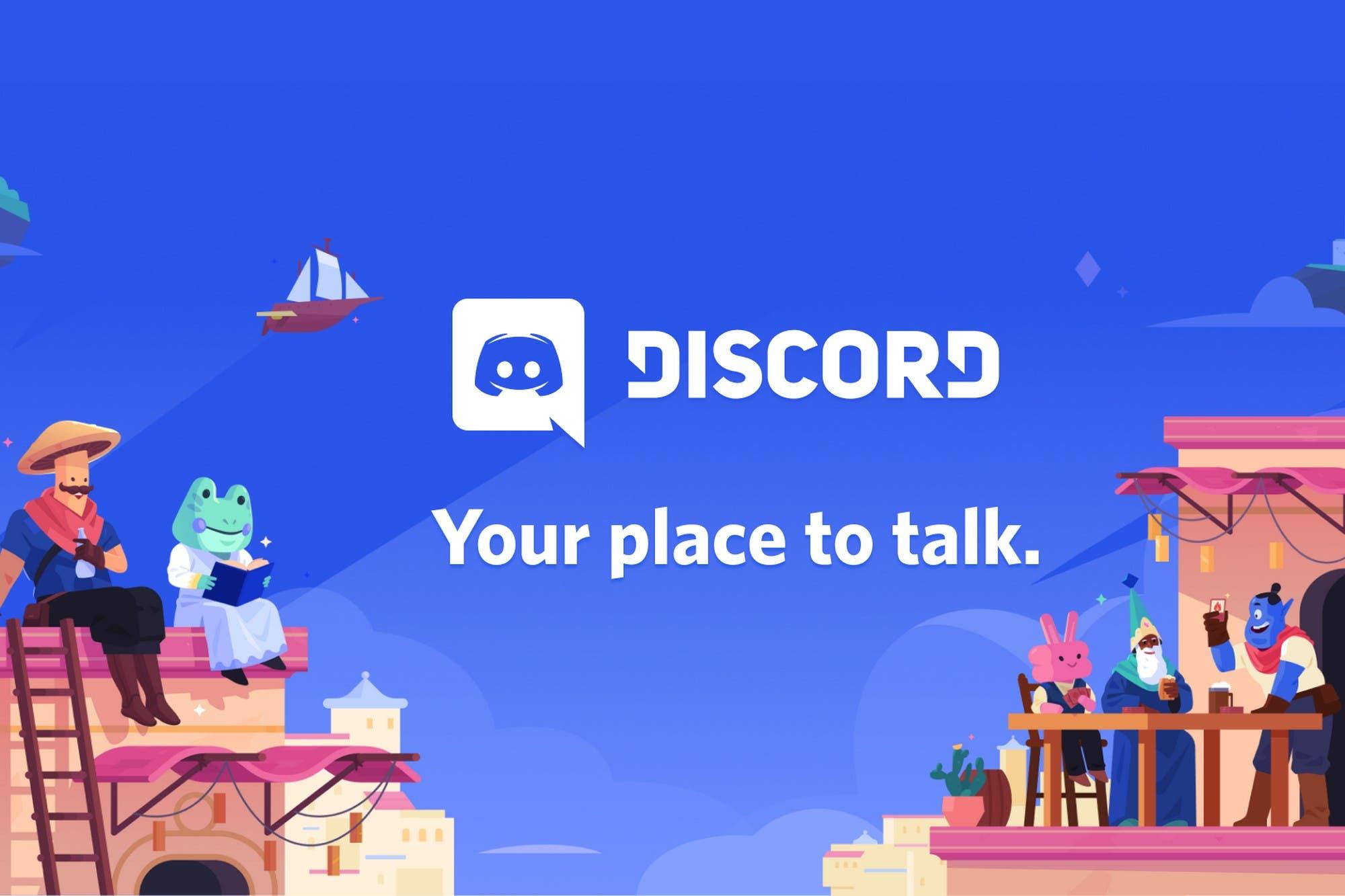 """Discord separa su imagen de los videojuegos y pasa a ser un """"lugar para hablar"""""""