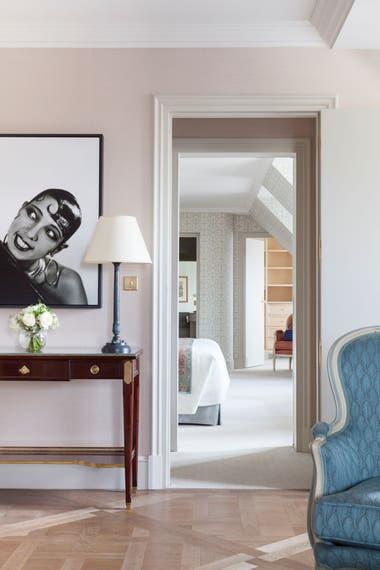 La suite dedicada a Josephine Baker, con cuadros de la diva