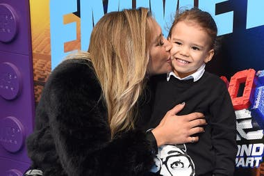 Naya Rivera with her 4-year-old son Josey, the result of her relationship with her ex-husband Ryan Dorsey