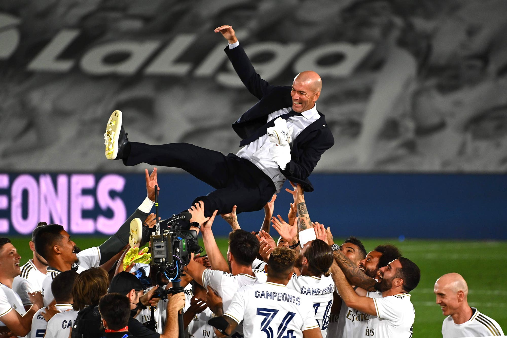 Real Madrid campeón: derrotó a Villarreal con dos goles de Karim Benzema y se consagró en la Liga de España