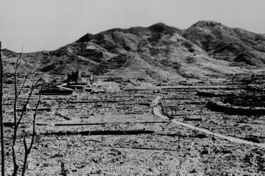 Así quedó Nagasaki luego de la bomba