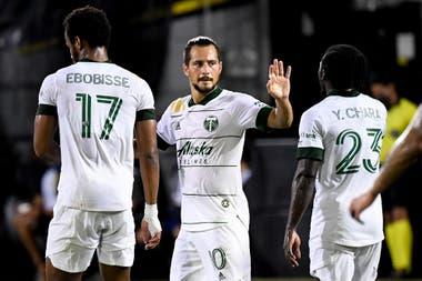 Decisivo: Blanco aportó goles y asistencias para que Portland llegara a la final de la MLS
