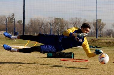 Andrada, uno de los jugadores que presentó síntomas en Boca
