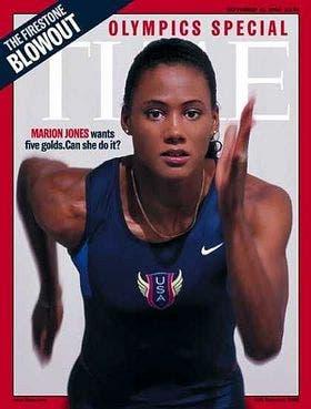 Marion en la portada de Time