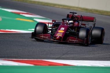 Los números de las Ferrari tienen una decoración particular y están pintados de manera que parecen hechos a mano.