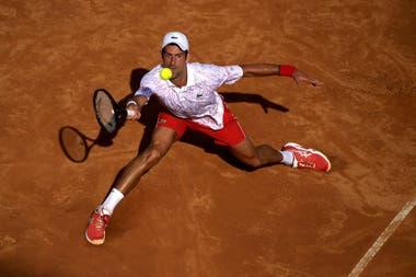 Djokovic se anotó ootro triunfo en Roma.