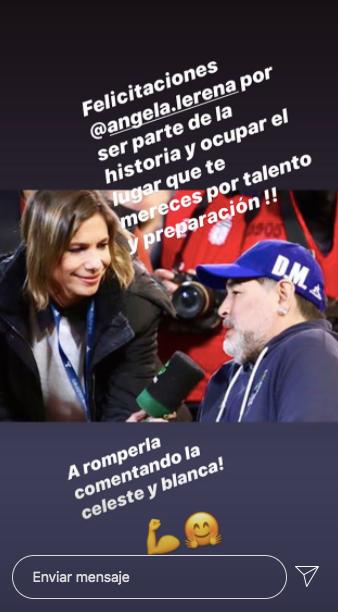 El mensaje de Alejandro Fantino para Ángela Lerena