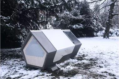 Las cápsulas están pensadas para soportar el frío